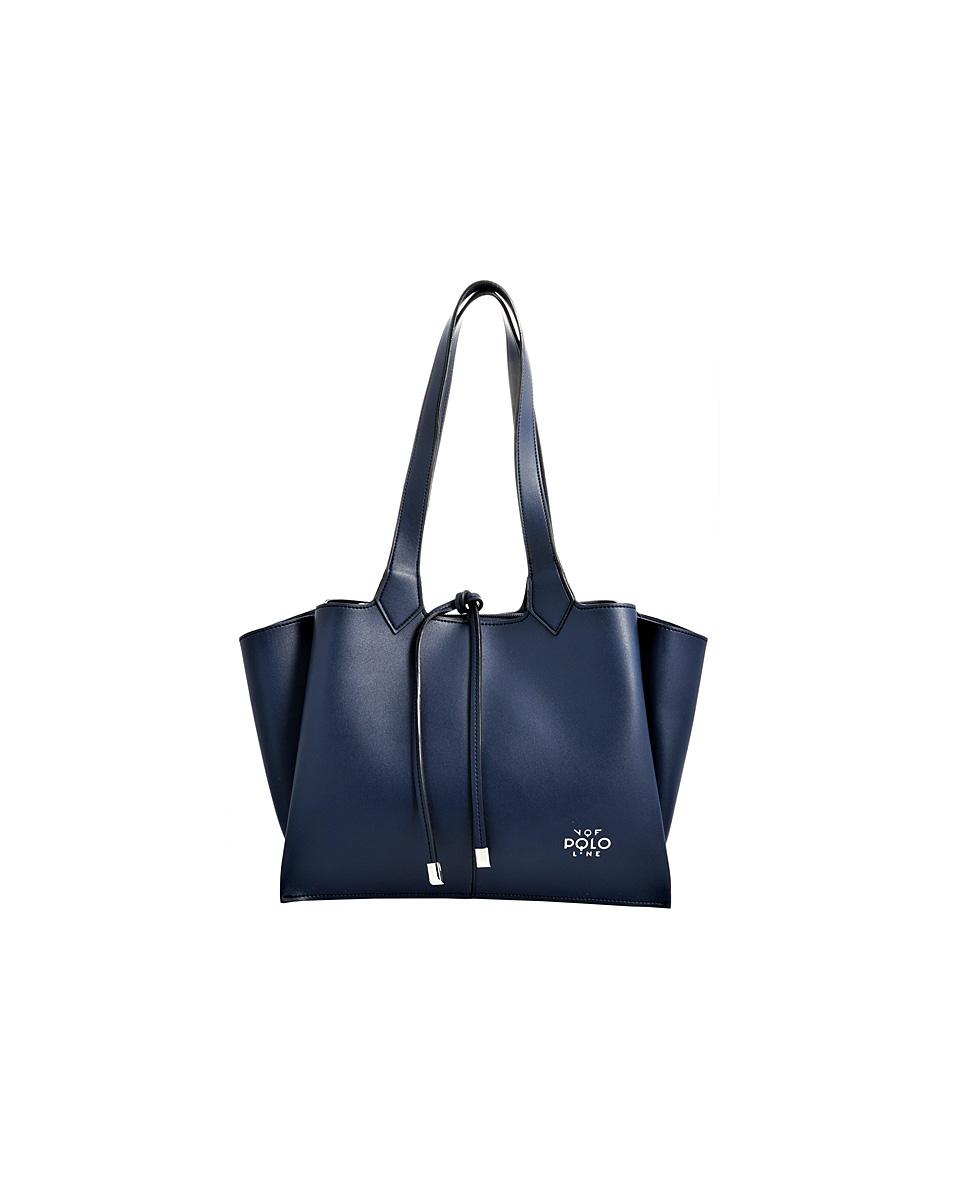 67b71cc403 Eco leather handbag VQF POLO AW181415 – Γυναικεία τσάντα χειρός από  συνθετικό δέρμα