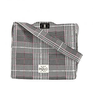 b6710e802c Eco leather handbag VQF POLO AW181419 – Γυναικεία τσάντα χειρός από  συνθετικό δέρμα